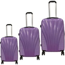 Expandable 3-Piece Luggage Set