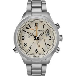 Analog Waterbury World Time Stainless Steel Bracelet Watch found on MODAPINS from The Bay for USD $299.00