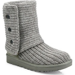 UGG Women's Cardy Knit Boots - Grey - Size 9 found on Bargain Bro India from Saks Fifth Avenue for $150.00