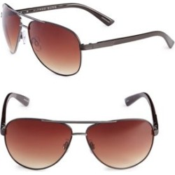 62mm Mesh Trim Aviator Sunglasses found on Bargain Bro Philippines from The Bay for $38.00