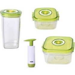 Set of 4 Vacuum Seal Container with Pump found on Bargain Bro India from Shop LC for $159.99