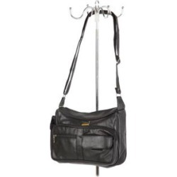 LeMonde London 100% Genuine Leather Baguette Crossbody Bag (8x10x3) found on Bargain Bro from Shop LC for USD $151.99