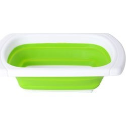 Green Collapsible Strainer (15x10 in) found on Bargain Bro India from Shop LC for $29.99
