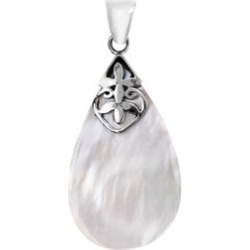 BALI LEGACY Mother of Pearl Pendant in Sterling Silver
