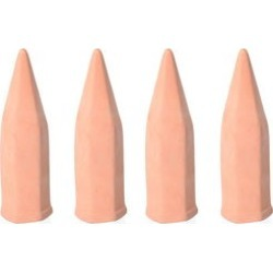 Set of 4 Terracotta Ceramic Self Watering Plant Feeder Spikes found on Bargain Bro Philippines from Shop LC for $39.99