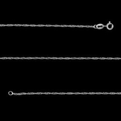 Sterling Silver Singapore Chain (18 in) (1.6 g)