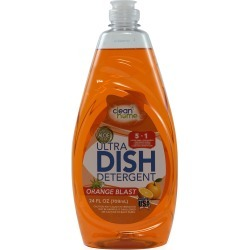 Clean Home Orange Blast Ultra Dish Detergent 24fl oz (Made in USA) found on Bargain Bro India from Shop LC for $29.99