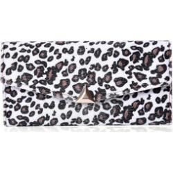 White Leopard Pattern Faux Fur Envelope Trifold Wallet (7.5x3.5) found on Bargain Bro from Shop LC for USD $45.59