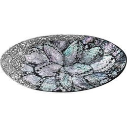 Handcrafted Decorative Shell Tray (9x4 in) found on Bargain Bro India from Shop LC for $399.99