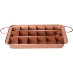 Golden Perfect Brownie Pan Set (12.5x2x8 in) found on Bargain Bro Philippines from Shop LC for $49.99