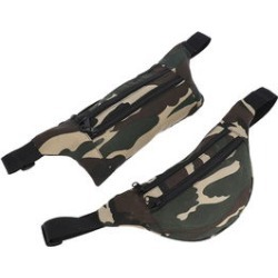 NEWAGE Set of 2 Camouflage Polyester Waistbags (14x6, 13x5) found on Bargain Bro from Shop LC for USD $22.79