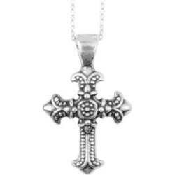 Cross Pendant Necklace (18 in) in Sterling Silver found on Bargain Bro Philippines from Shop LC for $69.99