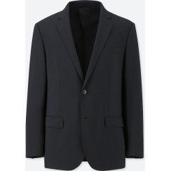 UNIQLO Men's Stretch Wool Slim-Fit Jacket, Black, M found on Bargain Bro India from Uniqlo US for $59.90