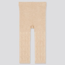 UNIQLO Baby Full-Length Knitted Leggings, Natural, Ages 18-24M(90) found on Bargain Bro India from Uniqlo US for $9.90