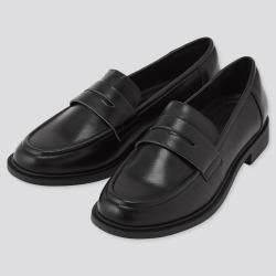 UNIQLO Women's Comfort Feel Touch Loafers, Black, 9.0 found on Bargain Bro India from Uniqlo US for $39.90