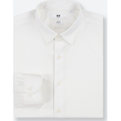 UNIQLO Men's Easy Care Stretch Slim-Fit Long-Sleeve Shirt, White, XL found on Bargain Bro Philippines from Uniqlo US for $14.90