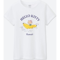 UNIQLO Girl's Sanrio Characters Ut (Short-Sleeve Graphic T-Shirt), White, Ages 5-6(120) found on Bargain Bro Philippines from Uniqlo US for $3.90