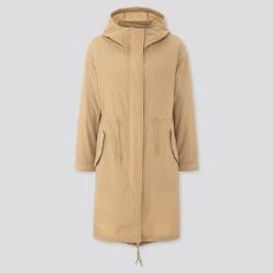 UNIQLO Women's Padded Liner Mods Coat, Beige, XS