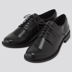 UNIQLO Women's Comfort Feel Touch Lace Up Shoes, Black, 7.5 found on Bargain Bro Philippines from Uniqlo US for $39.90