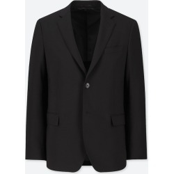 UNIQLO Men's Stretch Wool Slim-Fit Jacket, Black, XS found on Bargain Bro Philippines from Uniqlo US for $59.90