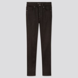 UNIQLO Women's High Rise Skinny Ankle Jeans (Sculpting), Black, 23 in. found on Bargain Bro India from Uniqlo US for $39.90