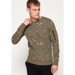 Superdry Premium All Over Print Crew Sweatshirt found on Bargain Bro from Superdry (UK) for £25