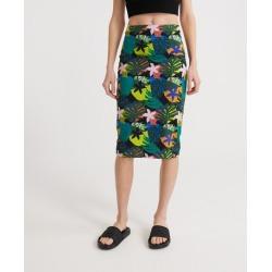 SUPERDRY Miami Midi Bodycon Skirt found on Bargain Bro UK from Superdry (UK)