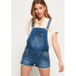 Superdry Denim Hot Short Dungaree found on Bargain Bro from Superdry (UK) for £37