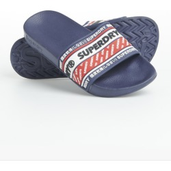 Superdry Retro Pool Sliders found on Bargain Bro UK from Superdry (UK)