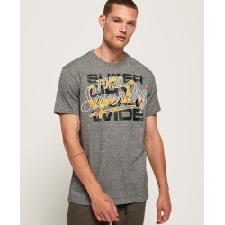 Superdry Ticket Type Camo Infill T-shirt found on Bargain Bro UK from Superdry (UK)