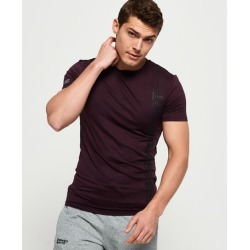 Superdry Active Tight Linear Print T-Shirt found on Bargain Bro UK from Superdry (UK)