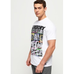 Superdry Ticket Type Infill T-Shirt found on Bargain Bro UK from Superdry (UK)