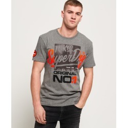 Superdry Reactive Classic Box Fit T-Shirt found on Bargain Bro UK from Superdry (UK)