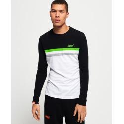 Superdry Orange Label Neon Stripe Long Sleeve T-Shirt found on Bargain Bro UK from Superdry (UK)