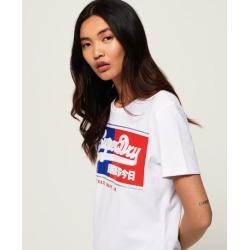 Superdry Vintage Logo Block Embossed T-Shirt found on Bargain Bro UK from Superdry (UK)