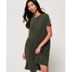 Superdry Smocked T-Shirt Dress found on MODAPINS from Superdry (UK) for USD $25.95