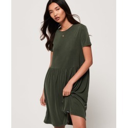 Superdry Smocked T-Shirt Dress found on MODAPINS from Superdry (UK) for USD $25.15