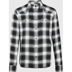 AllSaints Mens Collano Shirt, Jet Black, Size: XS found on Bargain Bro UK from All Saints UK