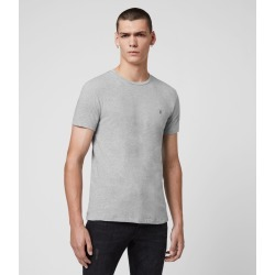 AllSaints Men's Cotton Regular Fit Tonic Crew T-Shirt, Grey, Size: L found on Bargain Bro UK from All Saints UK