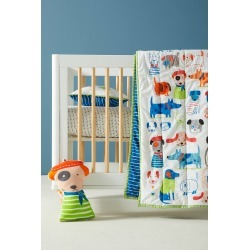 Carolyn Gavin Canine Collective Kids Quilt found on Bargain Bro India from Anthropologie for $98.00