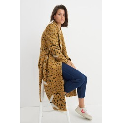 Leopard Faces Knit Coat By Hutch in Assorted Size XS