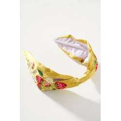 Alice Archer x Anthropologie Strawberry Headband - Green found on MODAPINS from Anthropologie UK for USD $50.10