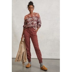Pilcro Mallory Joggers By Pilcro and the Letterpress in Orange Size XS - TALL found on Bargain Bro India from Anthropologie for $118.00