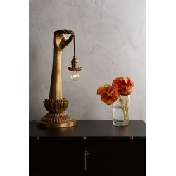 Lightbearer Table Lamp By Anthropologie in Gold found on Bargain Bro from Anthropologie for USD $378.48