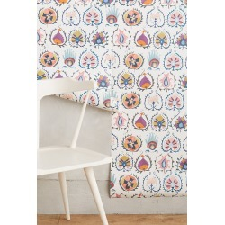 Anthropologie Jovana Wallpaper By York Wallcoverings in Assorted found on Bargain Bro from Anthropologie for USD $89.68