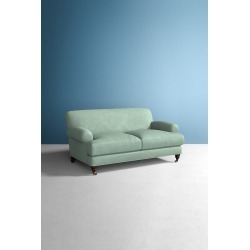 Willoughby Sofa, Performance Linen with Hickory Leg - Mint found on Bargain Bro UK from Anthropologie UK