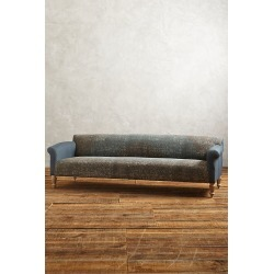 Rug-Printed Sofa - Turquoise found on Bargain Bro UK from Anthropologie UK