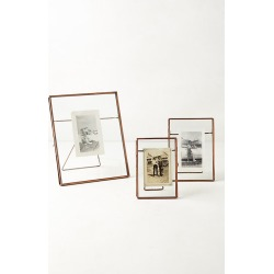Pressed Glass Photo Frame By Anthropologie in Brown Size 8 X 10 found on Bargain Bro from Anthropologie for USD $24.32