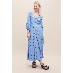 Robe imprimé chevalu00a0Auelineu00a0Ghost London found on MODAPINS from Anthropologie FR for USD $195.00