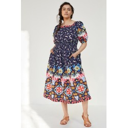 Kaya Maxi Dress By Anthropologie in Blue Size XS found on Bargain Bro India from Anthropologie for $141.00